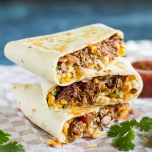 chili burritos