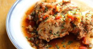 Crock Pot Paleo Salsa Chicken