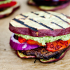 Pesto Sweet Potato and Portobello Paleo Sandwich