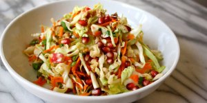 Pomegranate Cabbage Salad