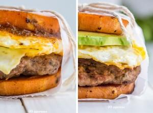 Whole 30 Breakfast Sandwich