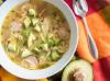 Avocado Lime Chicken Soup