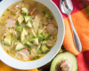 Avocado Lime Chicken Soup