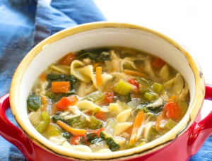 Vegetable Chicken Soup